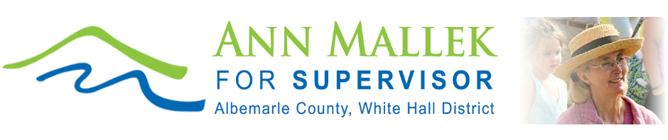 Ann Mallek for Supervisor